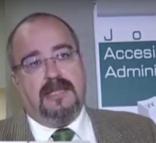 José Muelas conferencia (Jornadas sobre accesibilidad)