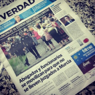 Portada La Verdad Juzgados Cartagena